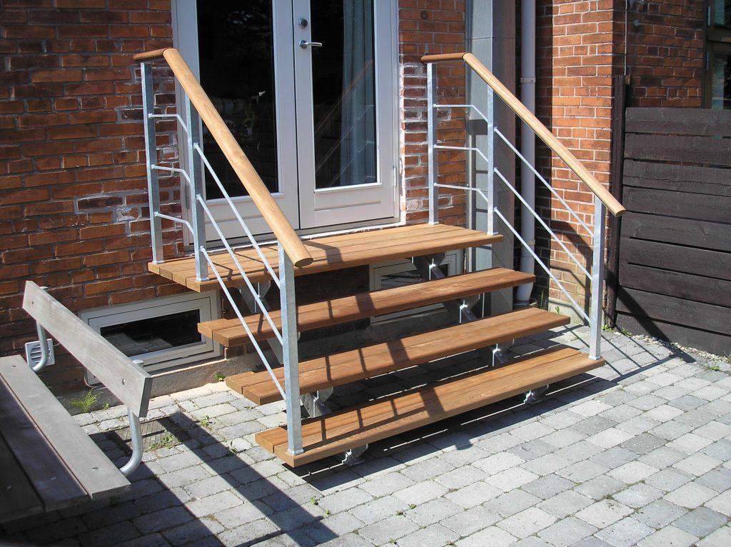 Picture of: Trappe Udendors Christian Steel Design Er Alt I Stal